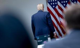 """Не меня спрашивай, а Китай!"" - вскипел Трамп и ушел с брифинга"