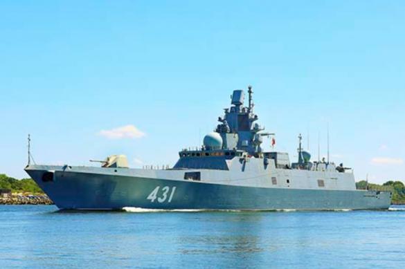 """Фрегат """"Адмирал Касатонов"""" проходит последний этап госиспытаний"""