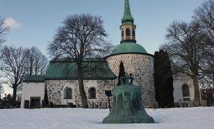 Мистика: в Швеции украли старинный колокол весом в полтонны