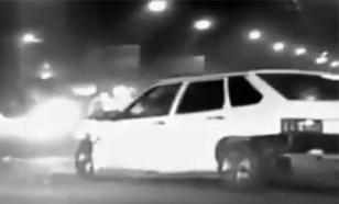 """Пензенские полицейские, рискуя жизнью, спасли пешеходов от уличного """"гонщика"""""""