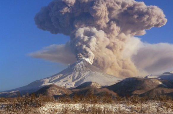 Из двух камчатских вулканов произошли выбросы пепла