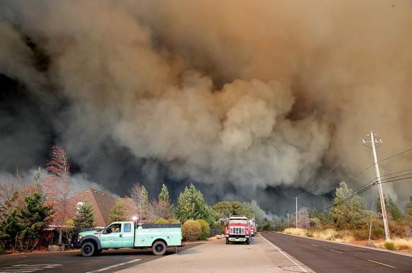 Причиной прошлогоднего пожара в Калифорнии назвали искру из-под кувалды