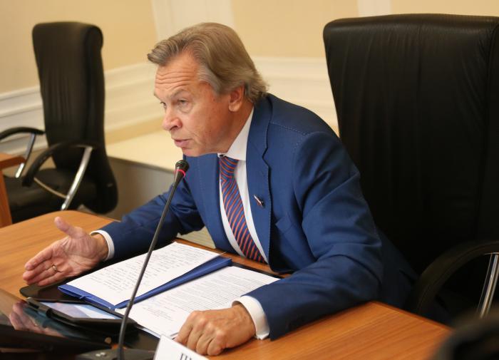 Пушков оценил слова главы Пенгатона о помощи Украине в вопросе Донбасса