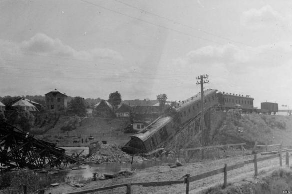 Разрушители железных дорог во время ВОВ
