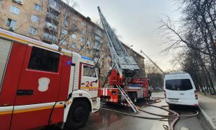 Установлена причина возгорания газовой трубы в квартире москвича