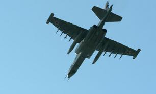 Спасатели не могут найти катапультировавшихся пилотов Су-25УБ