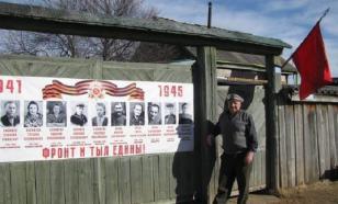 Музей во дворе деревенского дома - сибиряк рассказывает детям о войне