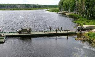 Несколько военных пострадали при обрушении моста в Хабаровском крае