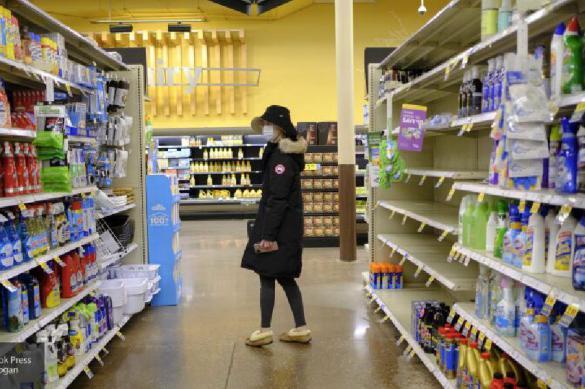 Власть объясняет пустые полки российских магазинов