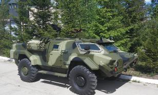 В Минске была замечена военная техника