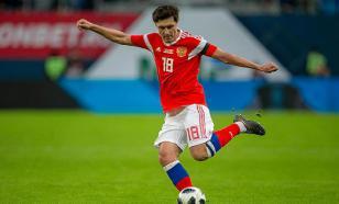 Жирков провёл сотый матч за сборную России