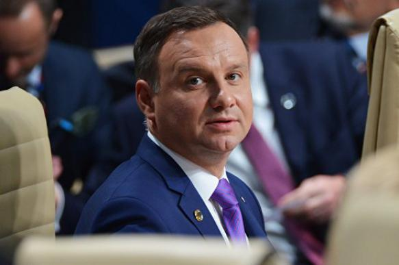 """Президента Польши возмутили слова Нетаньяху о """"сотрудничестве поляков с нацистами"""""""