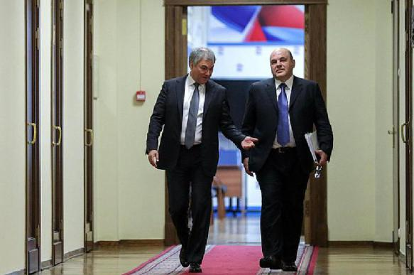 Думская фракция ЕР единогласно одобрила кандидатуру Мишустина