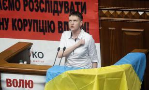 Первый рабочий день в Раде Савченко начала с гимна Украины