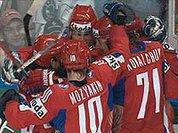 Хоккейная сборная России разгромила финнов