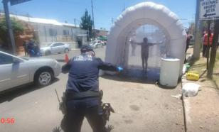 Как не пустить COVID в страну: противовирусный тоннель для иностранцев