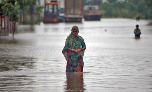 Больше 30 тысяч жителей Индии оказались в зоне наводнений