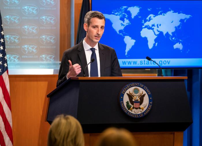 На слова Лаврова о дне в отношениях США и РФ ответили из Госдепа