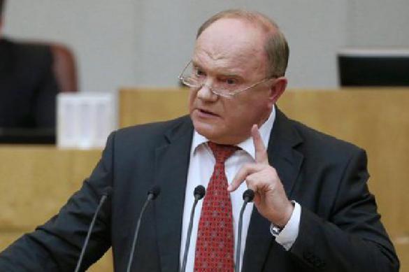 Зюганов продолжает говорить о досрочных президентских выборах