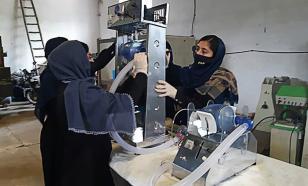 Школьницы в Афганистане собрали аппарат ИВЛ из автозапчастей