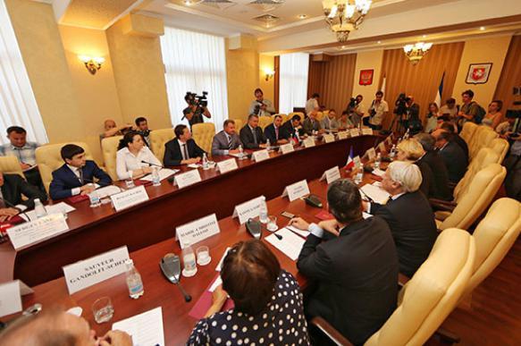 Евродепутаты поражены Крымом и негодуют от санкций
