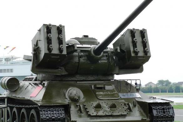 Модернизированный Т-34, который так и не появился.