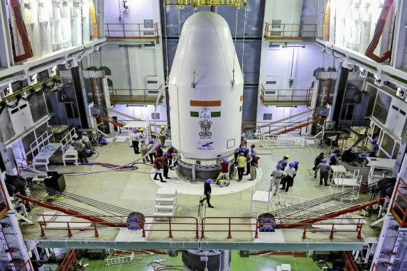 Индийская лунная станция вышла на вторую земную орбиту