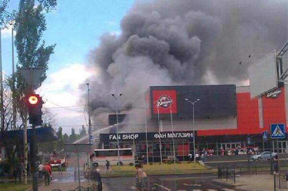 """Владелец """"Донбасса"""" рассказал о состоянии сгоревшей арены в Донецке"""