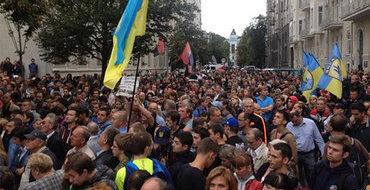 Русский националист призвал не допустить Марш мира. Видео