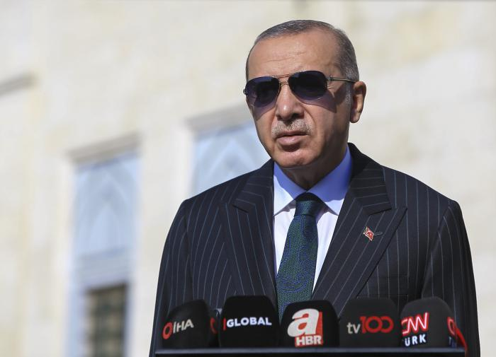 "Эрдоган провозгласил конец ""гегемонии Запада"""