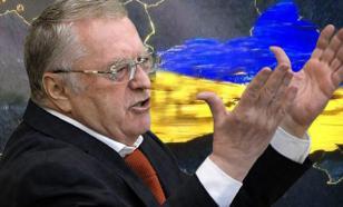 """Жириновский потребовал """"разбомбить и задушить"""" Украину"""