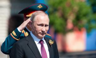 На Красную площадь пришли зарубежные гости и Владимир Путин