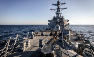 ВМС США: это не мы границу нарушили, это русские её не там провели