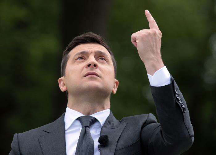 Владимир Зеленский собирает себе окружение из числа шоуменов