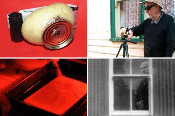 Житель Австралии создал фотоаппарат из картошки