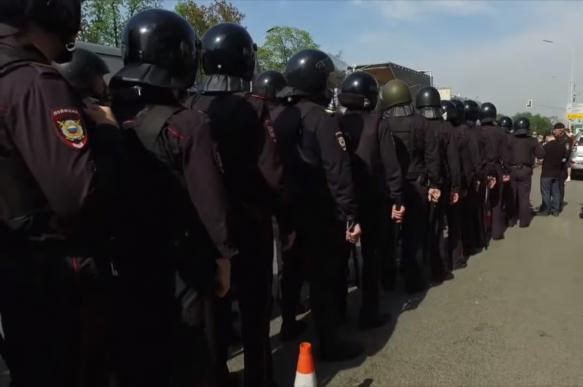 Провал протестных акций сторонников Навального