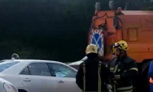 В аварии на МКАД погибли три человека