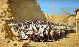 Как туркмены перед сражениями с русскими солдат на голову ставили