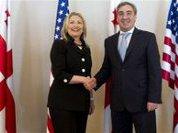 Саакашвили сделал Клинтон гражданкой