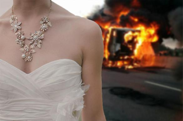 Уж замуж невтерпеж. Невеста спаслась из горящего вертолета и не пропустила свадьбу