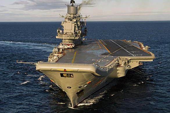 """Крейсеру """"Адмирал Кузнецов"""" нужен дополнительный ремонт турбин"""
