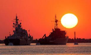 Экипажи кораблей Балтийского флота проверили на живучесть