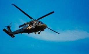 Для разгона протестующих в Вашингтоне применили военные вертолеты