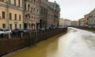 Воды рек и каналов Петербурга окрасились в жёлтый цвет