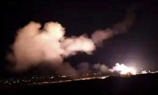 """Сирийские СМИ сообщили об """"израильской агрессии"""" под Дамаском"""