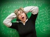 Страх перед математикой вызывает боль