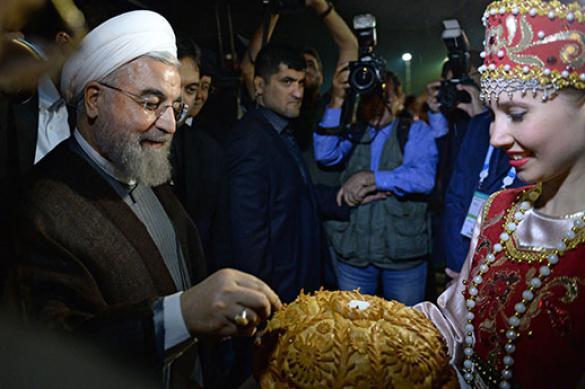 Глава Ирана Хасан Роухани прибыл в Уфу для участия в саммите ШОС