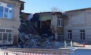 В Чувашии частично обрушилось здание школы