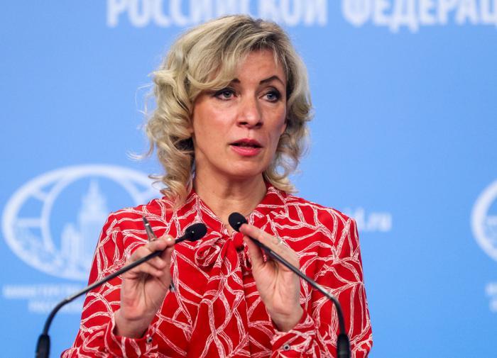 """Захарова уточнила, чем Западу удобна история с """"отравлением"""" Навального"""