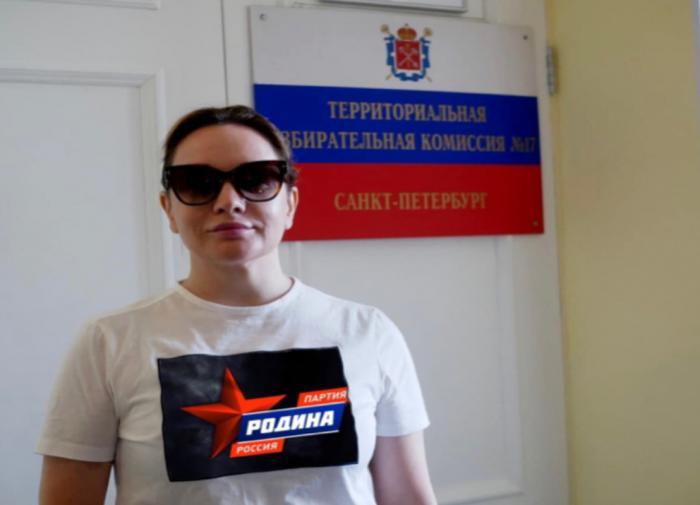Татьяна Буланова стала кандидатом в депутаты ЗакСа Петербурга